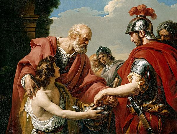 belisarius by Francois-Andre Vincen