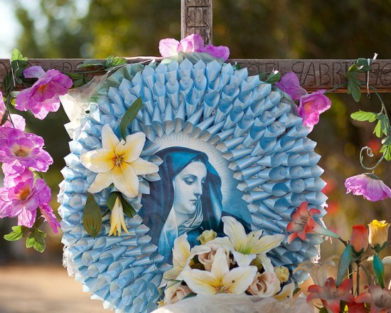 Roadside shrine in Tesquesquite, Mexico. Photo by Kevin J. Miyazaki
