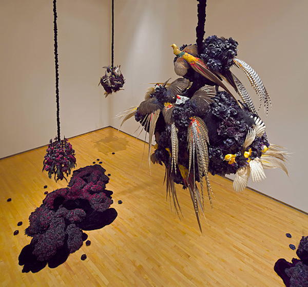 Petah Coyne, Everything That Rises Must Converge, installation view