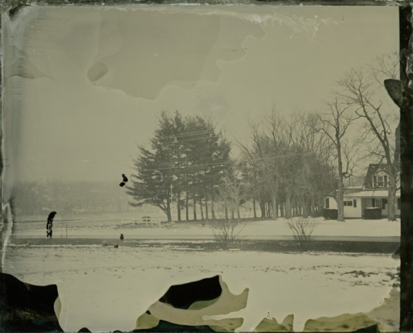 Rashod Taylor, Snow, ambrotype