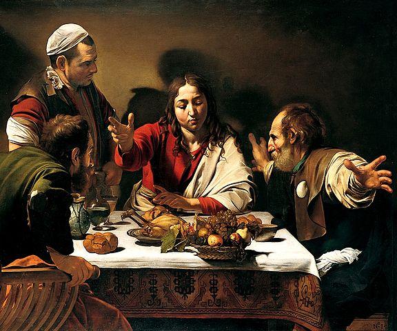 Caravaggio, Supper at Emmaus