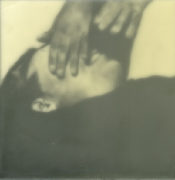 Kenichi Hoshine, untitled (hands closing eyes)