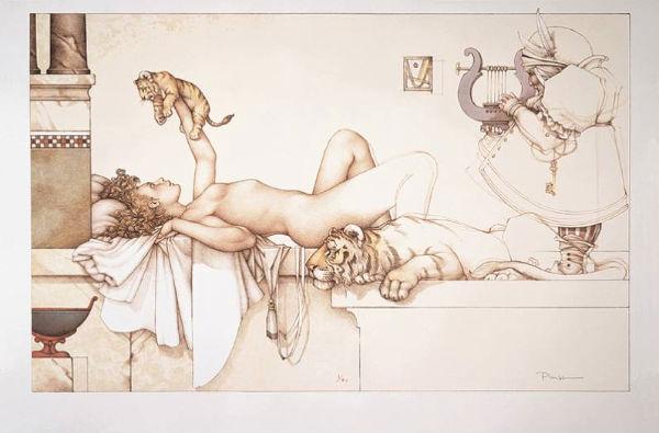 Michael Parkes, lifted tiger cub