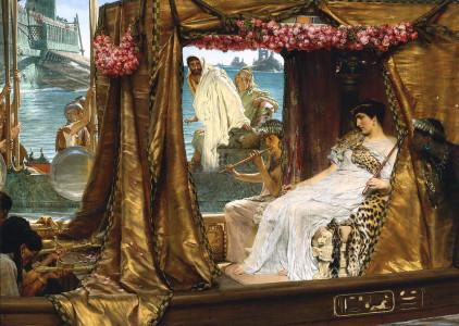 Antony and Cleopatra by Lawrence Alma-Tadema