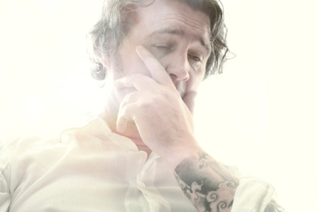 Adrian Samson, White Light Series, man with tattoo, smaller for EIL