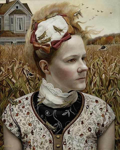 Andrea KOWCH_Far-Away, grasshoppers and corn