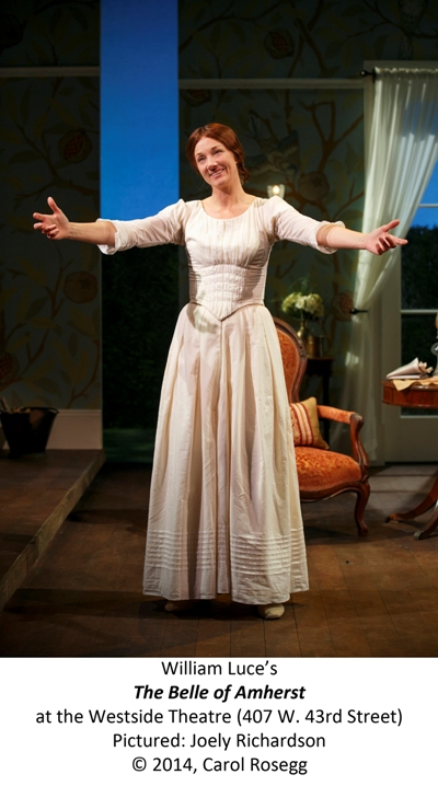 Belle, open arms, credit, Carol Rosegg