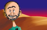 Phil Maish intro author cartoon