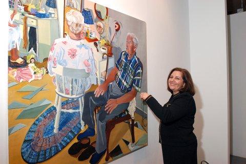 Rosalind Al-Awad, reception painting