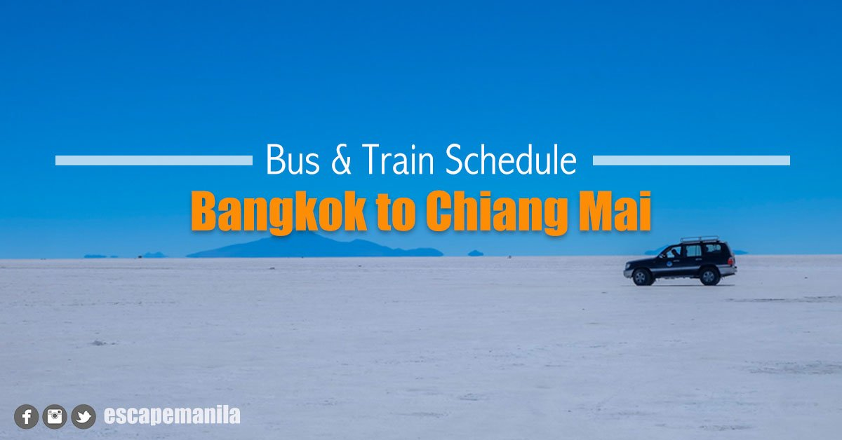 3 Easy Ways to Go to Chiang Mai from Bangkok