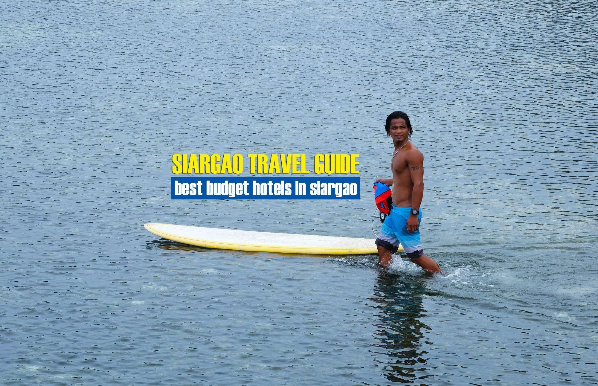 Best Budget Hotels in Siargao