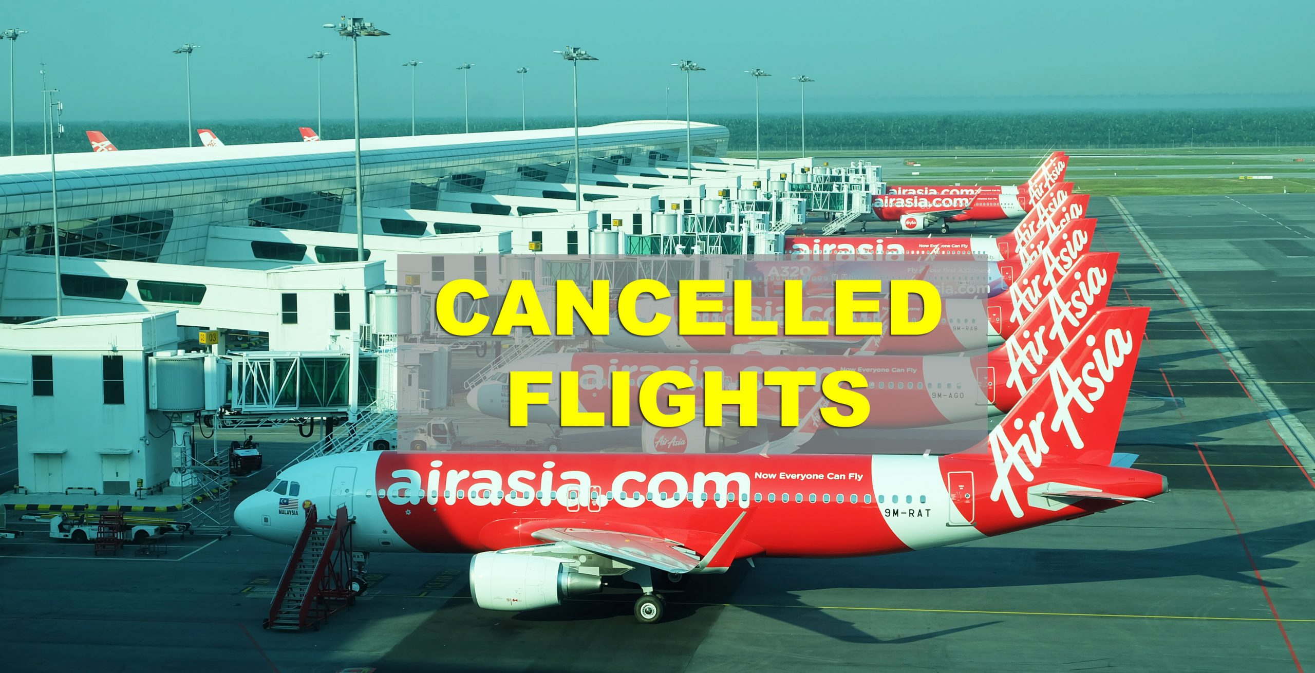 Flight Cancellations in the Philippines Due to Typhoon Kammuri (Tisoy)