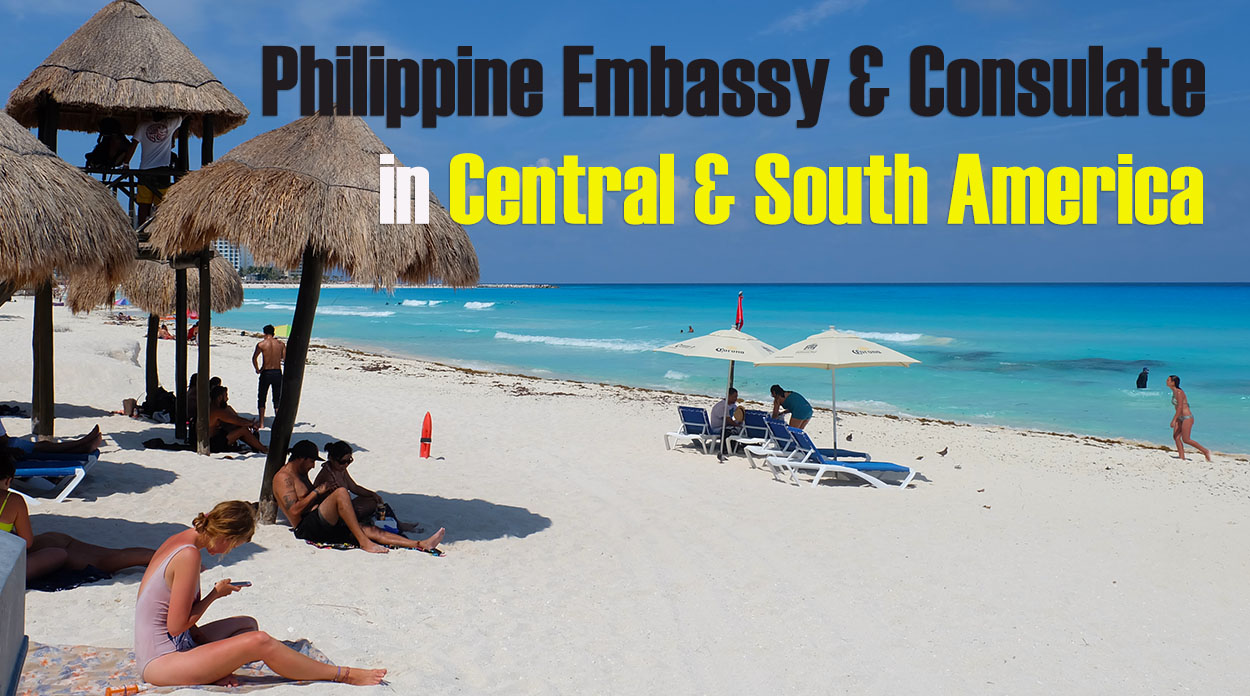 List of Philippine Embassies in South and Central America