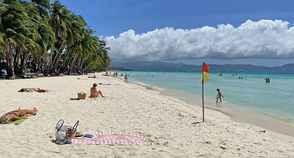 Beach Bumming in Boracay