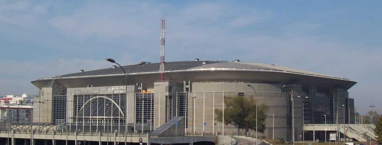 2008: Belgrad Arena, Sırbistan Kapasite: 20000 Açılış: 2004