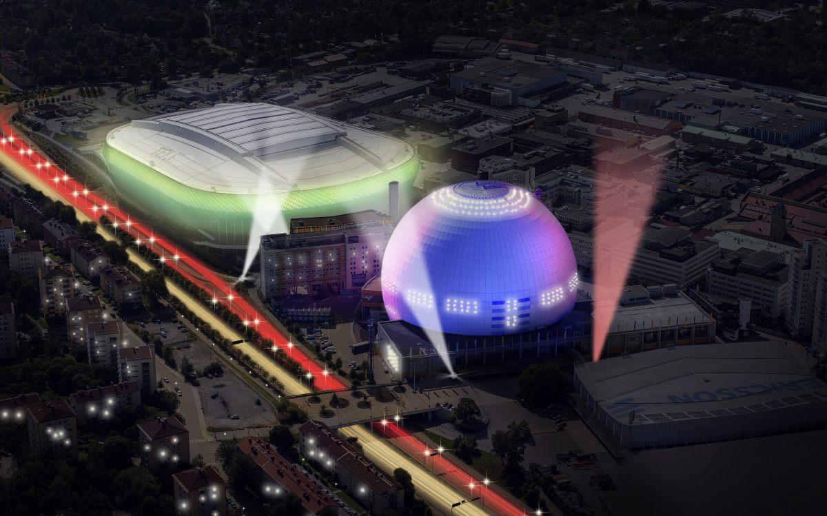 2000: Stockholm Globe Arena, İsveç Kapasite: 16000 Açılış: 1989