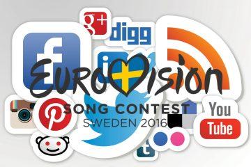 Eurovision social media