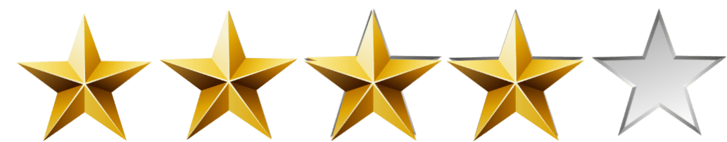 Image result for 4 out of 5 stars