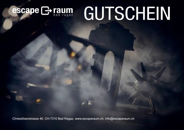 Gutschein Escape Raum Bad Ragaz