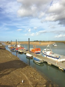 The Boats at Wells Next the Sea