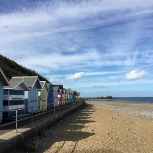 Colourful Beach Huts and Cromer
