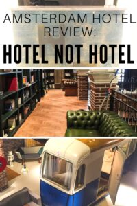 Looking for a seriously unique but budget friendly place to stay in Amsterdam? Look no further than the brilliantly named Hotel Not Hotel. Find out all about it here.