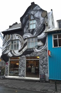Funky shop on Langavegur