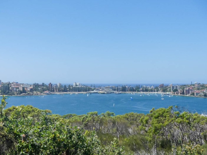 Taking the Spit to Manly walk is like walking