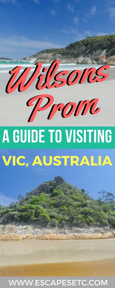 WIlsons Prom is one of Victoria's stunning national parks, and somewhere I always recommend people go. Here's my guide to Wilsons Prom plus some of my favourite snapshots to inspire you more! #wilsonsprom #visitvictoria #australia #nationalparks