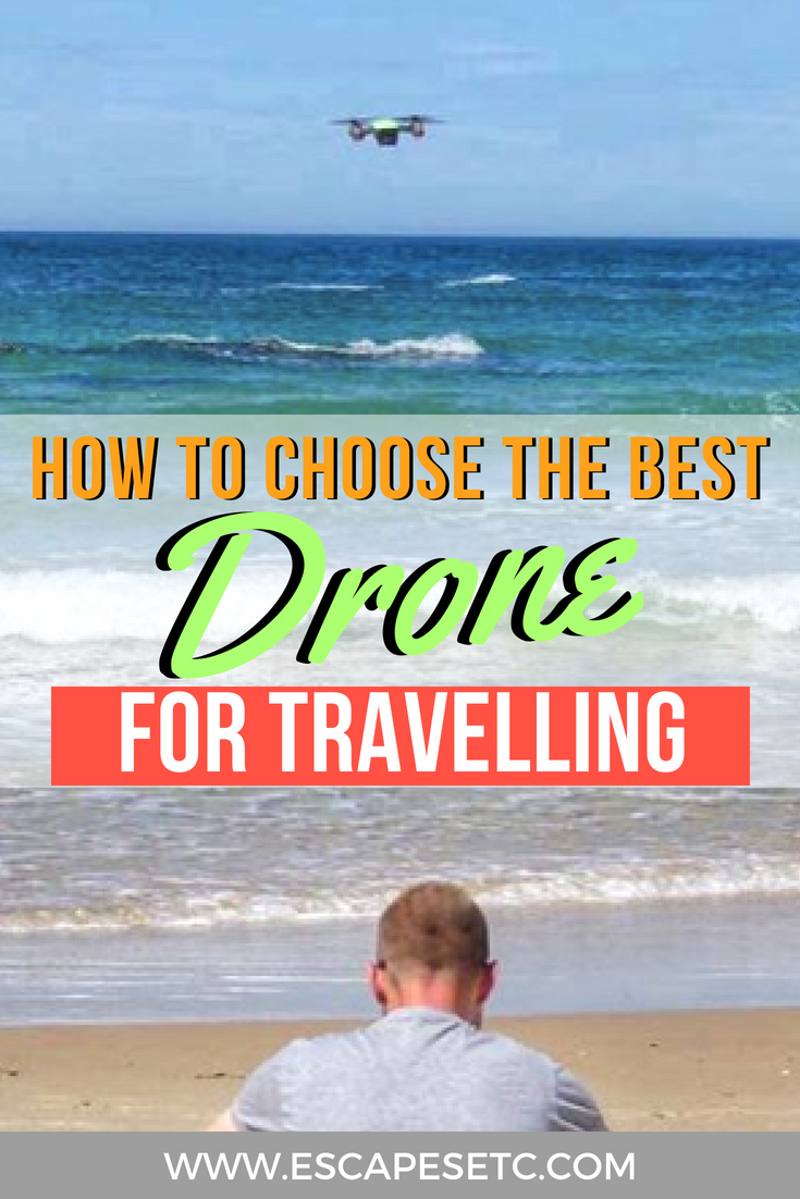 Looking to up your travel photography game and buy a drone? I absolutely love having one and it adds an amazing angle to images and video. A drone is a big investment so I've put together a guide on how to choose the best drone for travelling. #drone #bestdronetobuy #bestdronefortravelling #travellingwithadrone #travelphotography