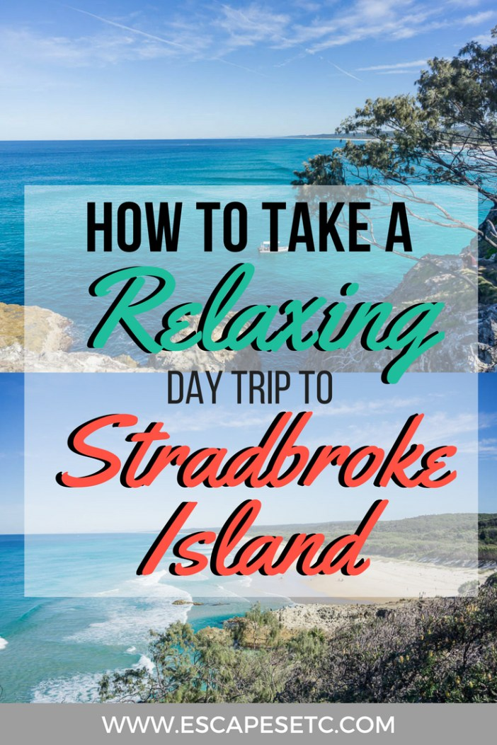 From the ferry, to using the buses to finding out what there is to do, here's everything you need to know about taking a day trip to Queensland's Stradbroke Island #australia #queensland #stradbrokeisland #brisbanedaytrip