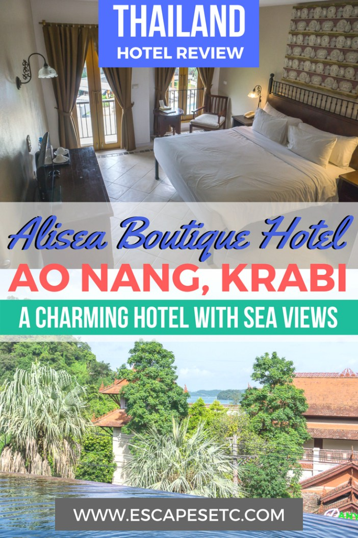 Planning a trip to Ao Nang an looking for the perfect place to stay? Alisea is the perfect affordable hotel with tonnes of extra perks. Find out more in my review here. #aonang #krabi #thailand #hotelsinkrabi #visitthailand