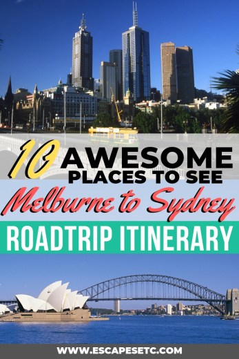 Are you planning an epic Australia roadtrip and looking for the top things to see between Melbourne and Sydney? You're in for such a treat! From penguins to mountains and the most incredible coastline, there's so many things to see between Melbourne and Sydney. Click here to for the ultimate Australian road trip itinerary covering everything you need to know #australia #backpackingaustralia #australiaroadtrip #melbournetosydney #greatoceanroad #phillipisland #grampians #wilsonspromontory #lakesentrance #wollongong #melbourne #sydney