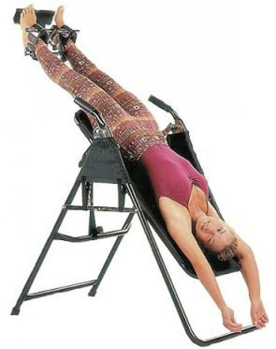 video on how to use a inversion table