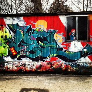 Christiania grafitti