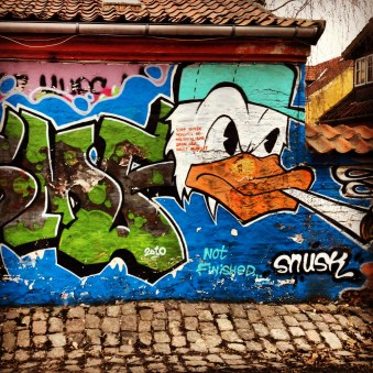 Weed duck