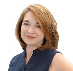 Sara Rosett Author Headshot blue