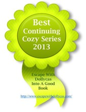 2013 best continuing cozy series