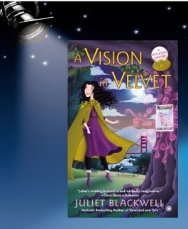 vision in velvet spotlight