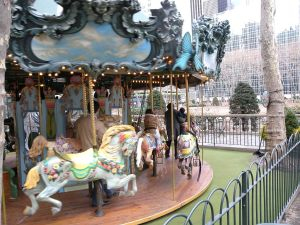 Bryant Park Carousel courtesy Wiki Commons