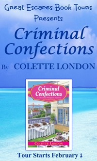 CRIMINAL CONFECTIONS SMALL BANNER