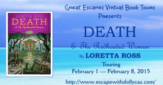 great escape tour banner large death and the red headed woman331