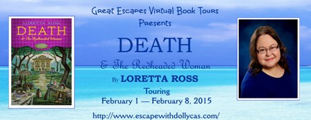 great escape tour banner large death and the red headed woman448