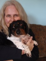 Chrystle-Fiedler-and-Wallander-her-Detective-Dachshund-11