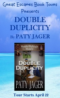 DOUBLE DUPLICITY SMALL BANNER