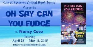 oh say can you fudge large banner328