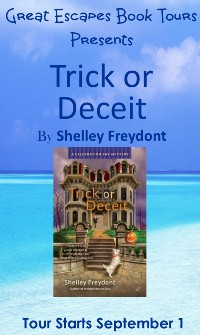 TRICK OR DECEIT SMALL BANNER