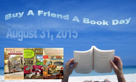 give a friend a book 2015