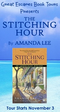 STITCHING HOUR SMALL BANNER
