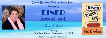 diner knock out large banner